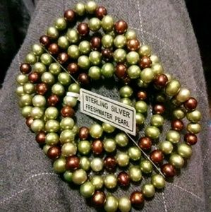 Sterling silver freshwater pearls